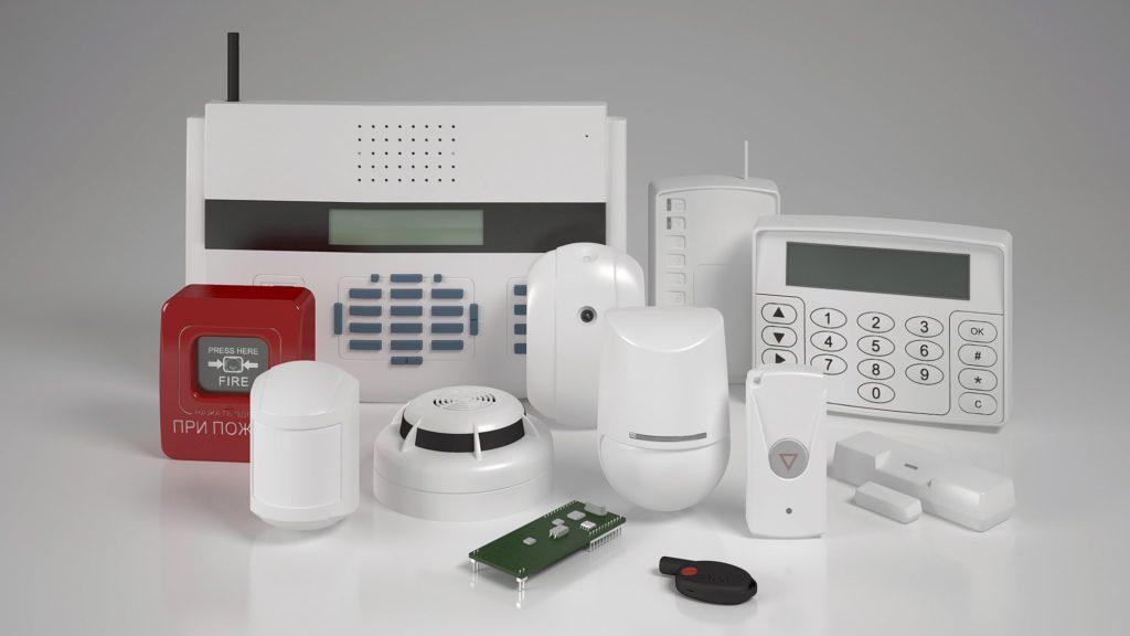пожарная сигнализация и другое оборудование для охраны квартир