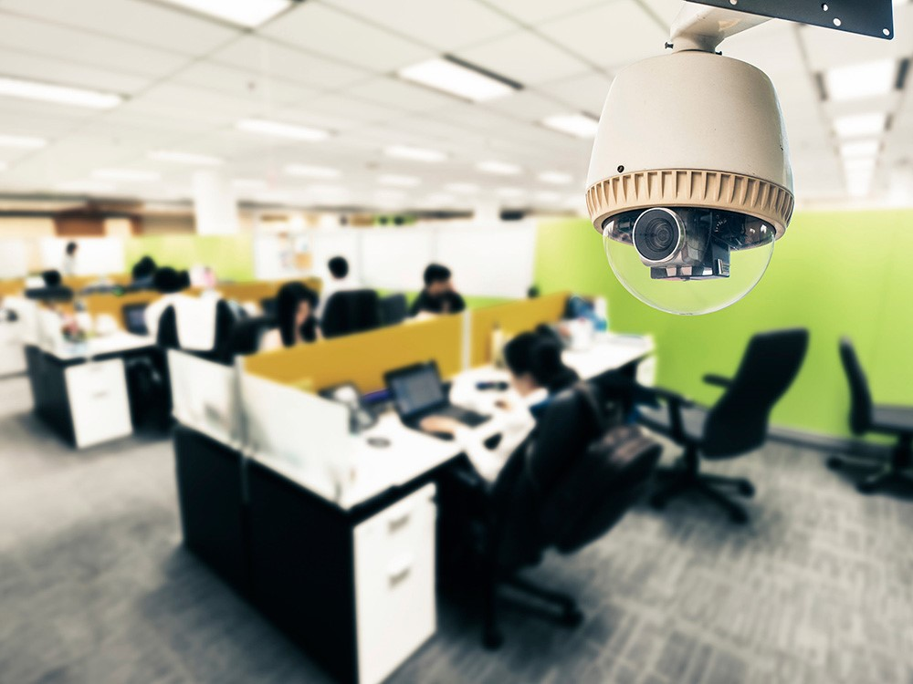 камера охрана офисов
